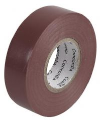 CONCORDIA TECHNOLOGIES AIT1920BRN SINGLE  Insulation Tape Brown 19Mm X 20M